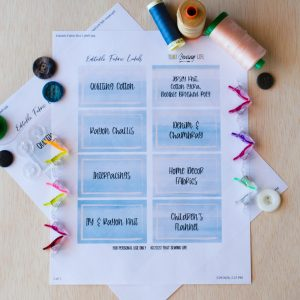 Free Editable Label Printable